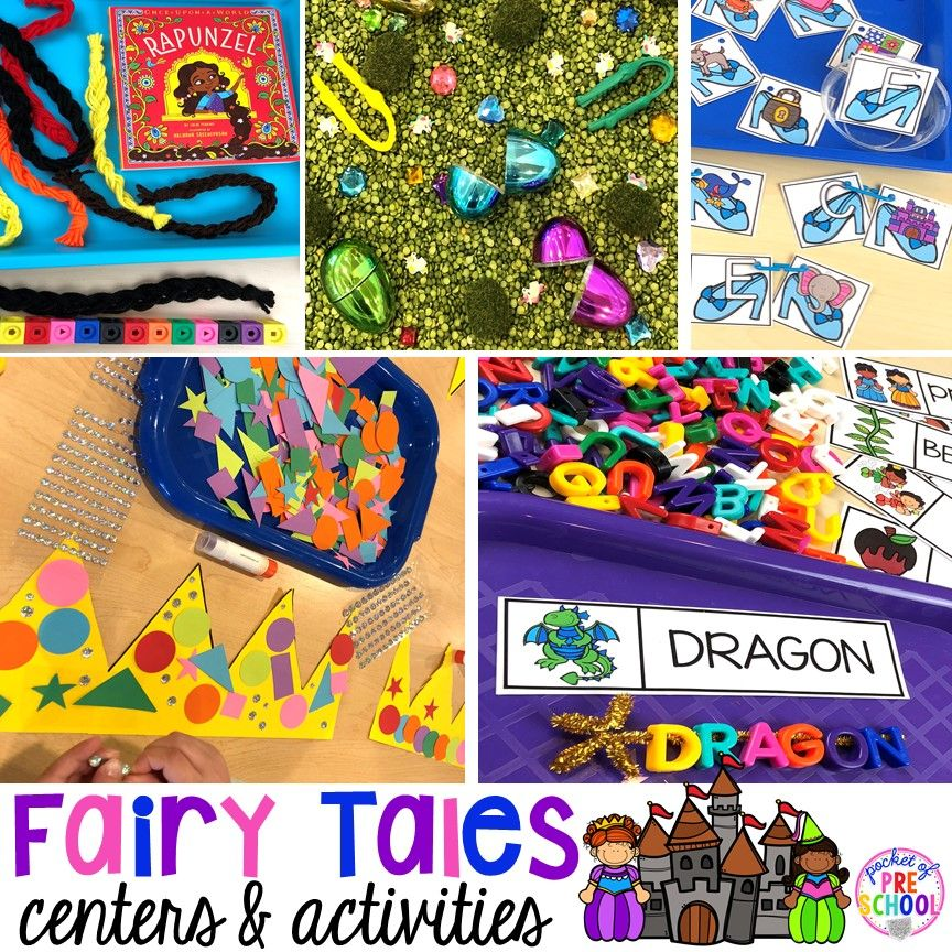 Fairy Tales Activities and Centers Early Childhood Loose