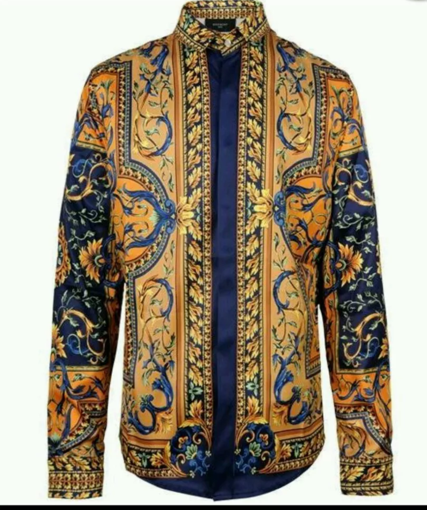 f97c37a5031ac Versace Baroque Shirt Size Medium - 2XL