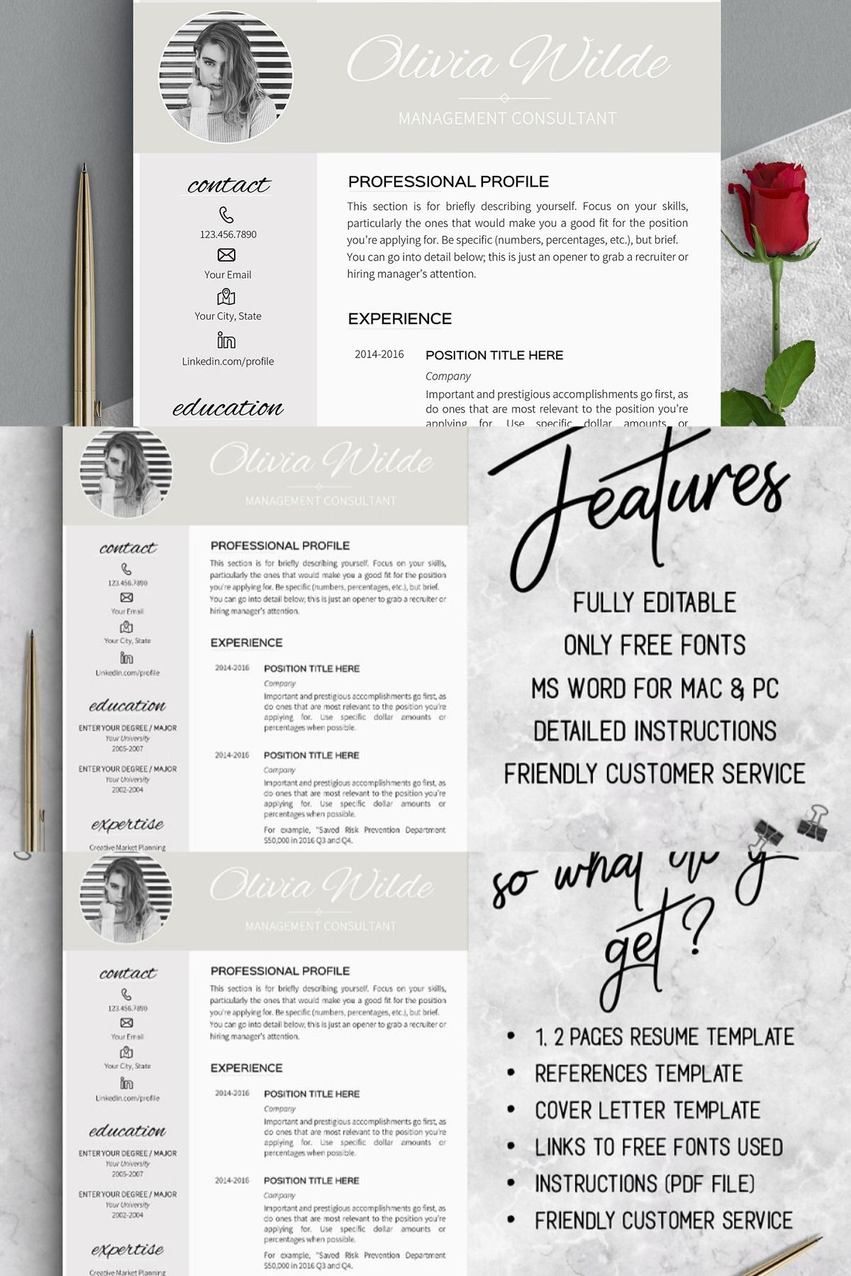 Important notes instant download fully editable us