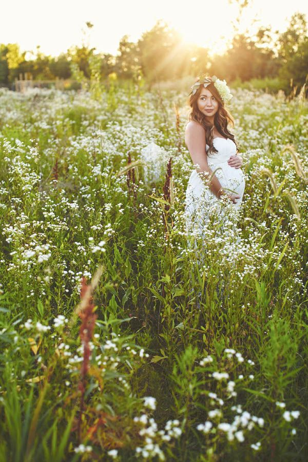 gorgeous outdoor natural light maternity photography (1)  – Babybauch Ideen