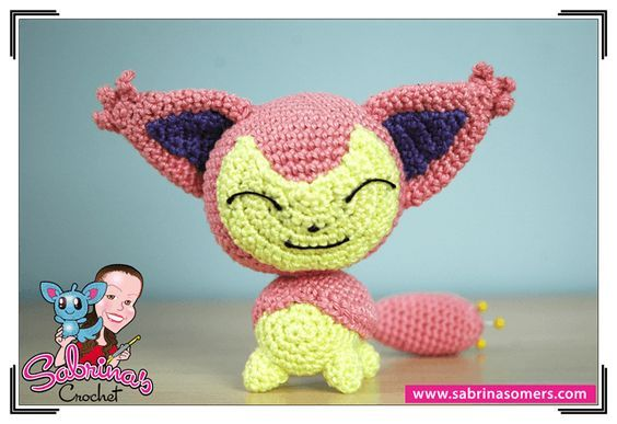 Skitty Pokemon Free Crochet Pattern Amigurumi Crafts