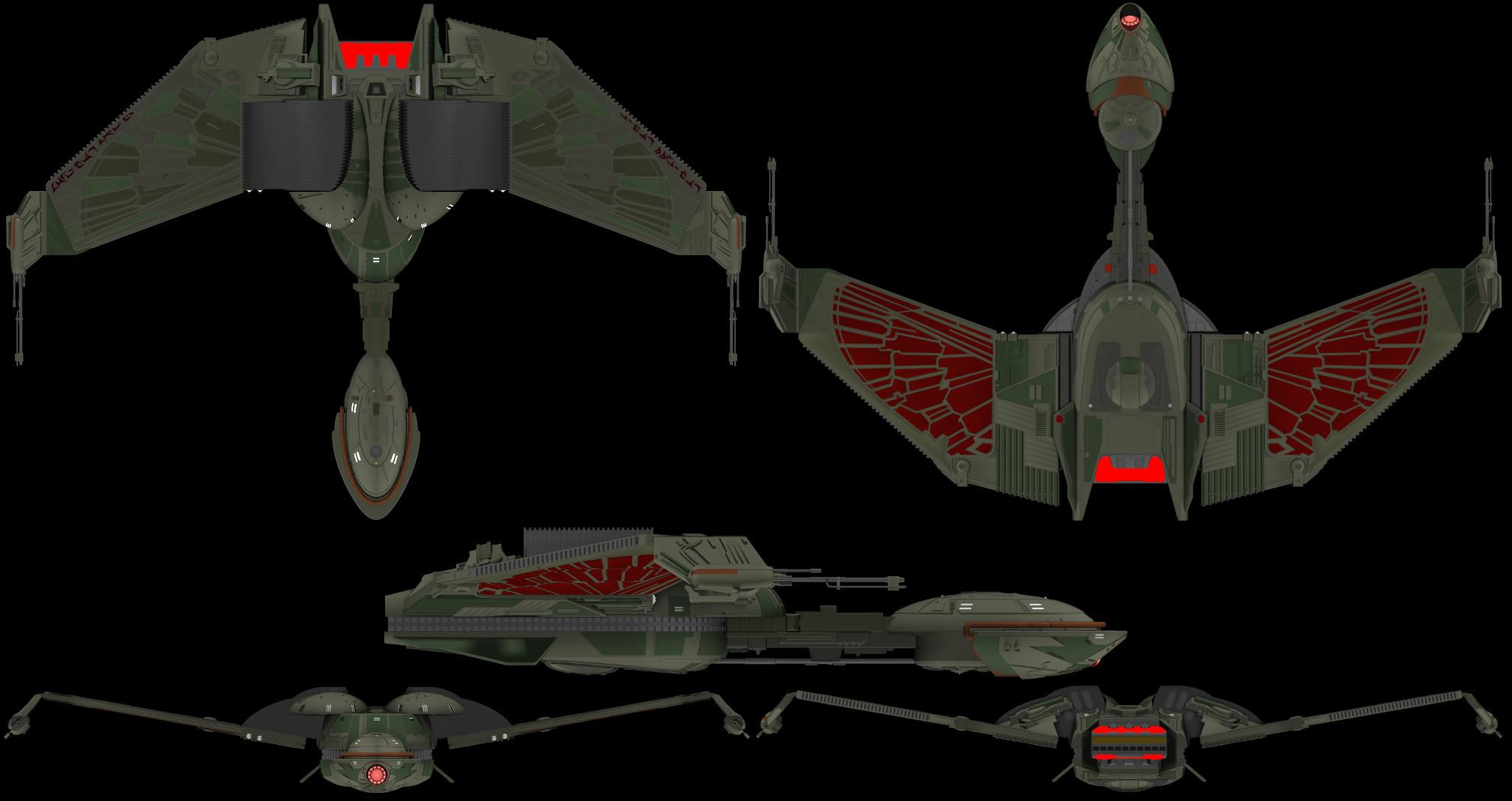 16++ Klingon fighter ideas