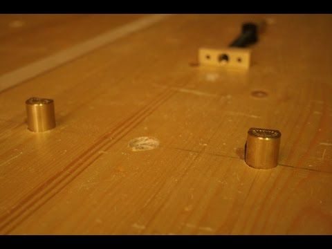 The Right Way To Add Dog Holes To Your Workbench Alistair Darroch