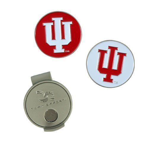 NCAA Indiana Hat Clip and 2 Golf Ball Markers by Team Effort. $9.99. Magnetic hat clip with ball markers attaches to hat or visor.
