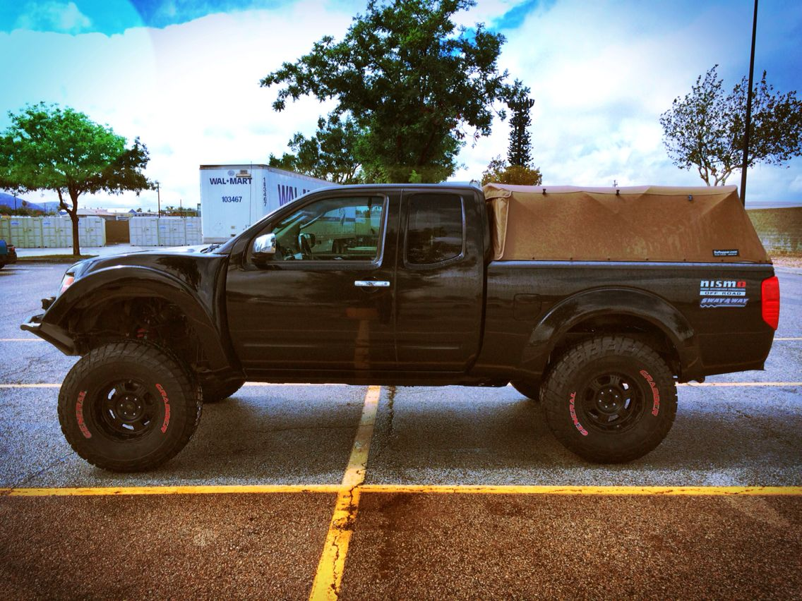 Nissan Frontier Nismo Off-Road ;) Conceived in the ancient depths of ...