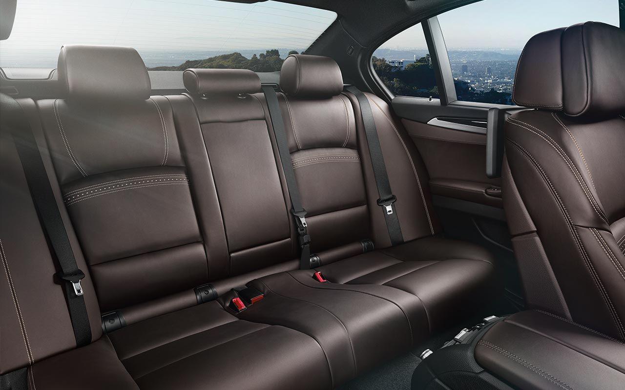 The Bmw 535i Sedan With Nappa Leather Interior In Mocha Bmw New