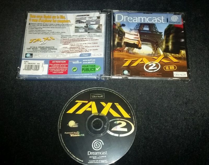Taxi 2 Le Jeu PAL #retrogaming #HotDC  Incomplete without manual but very good starting price. Auction from France.
