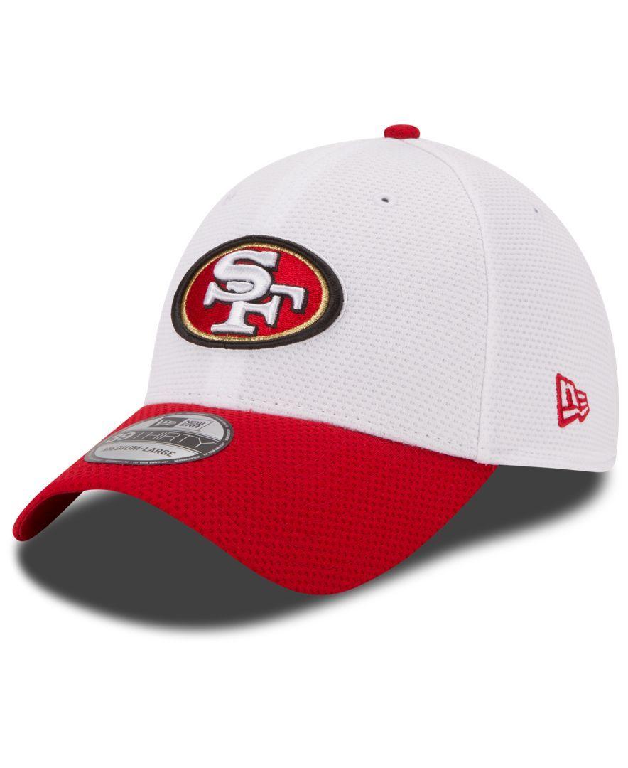 best loved 04e92 a8bea ... Field Training Camp Flex Hat White. New Era San Francisco 49ers Nfl 2015  Training 39THIRTY Cap