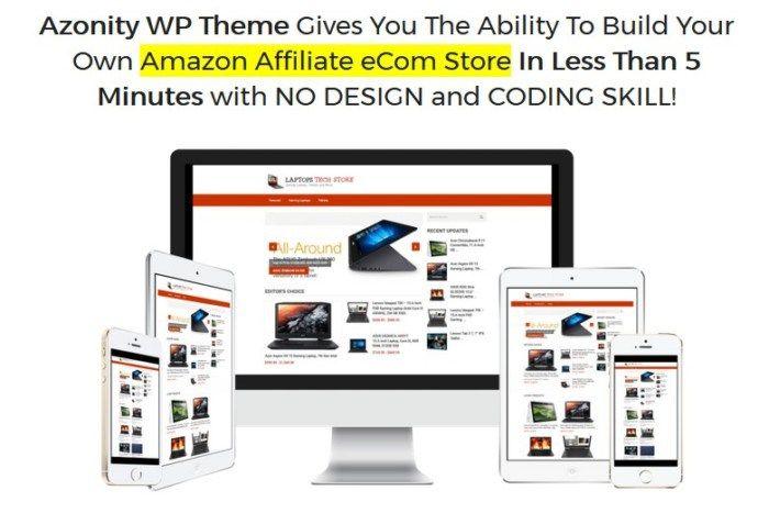 Azonity WP Theme Developer License LIFETIME By Bcbiz | Internet ...