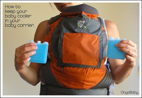 how to keep baby cool in carrier