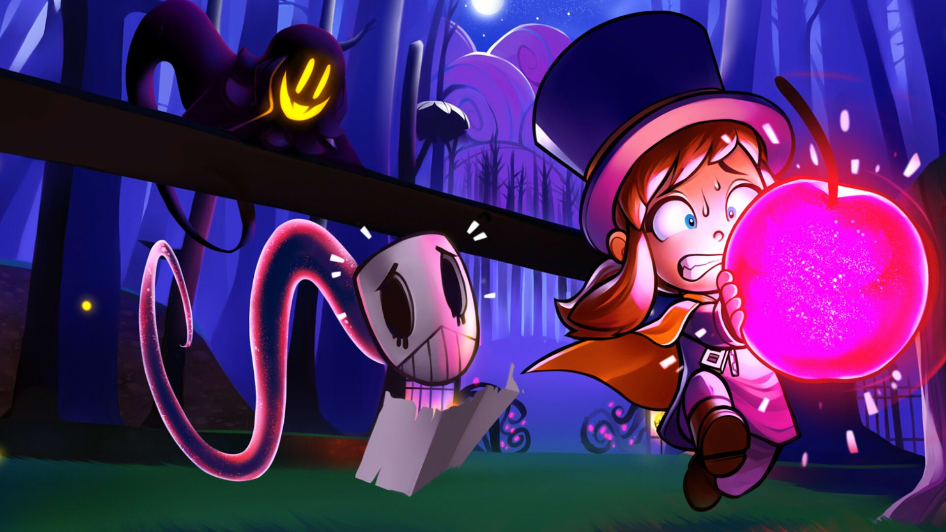 Pin By Ghosttrain13 On A Hat In Time A Hat In Time Wallpaper Hats