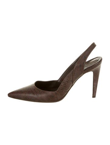high quality cheap price Diane von Furstenberg Embossed Pointed-Toe Pumps cheapest price online latest collections cheap online low shipping discount websites A9TWP6