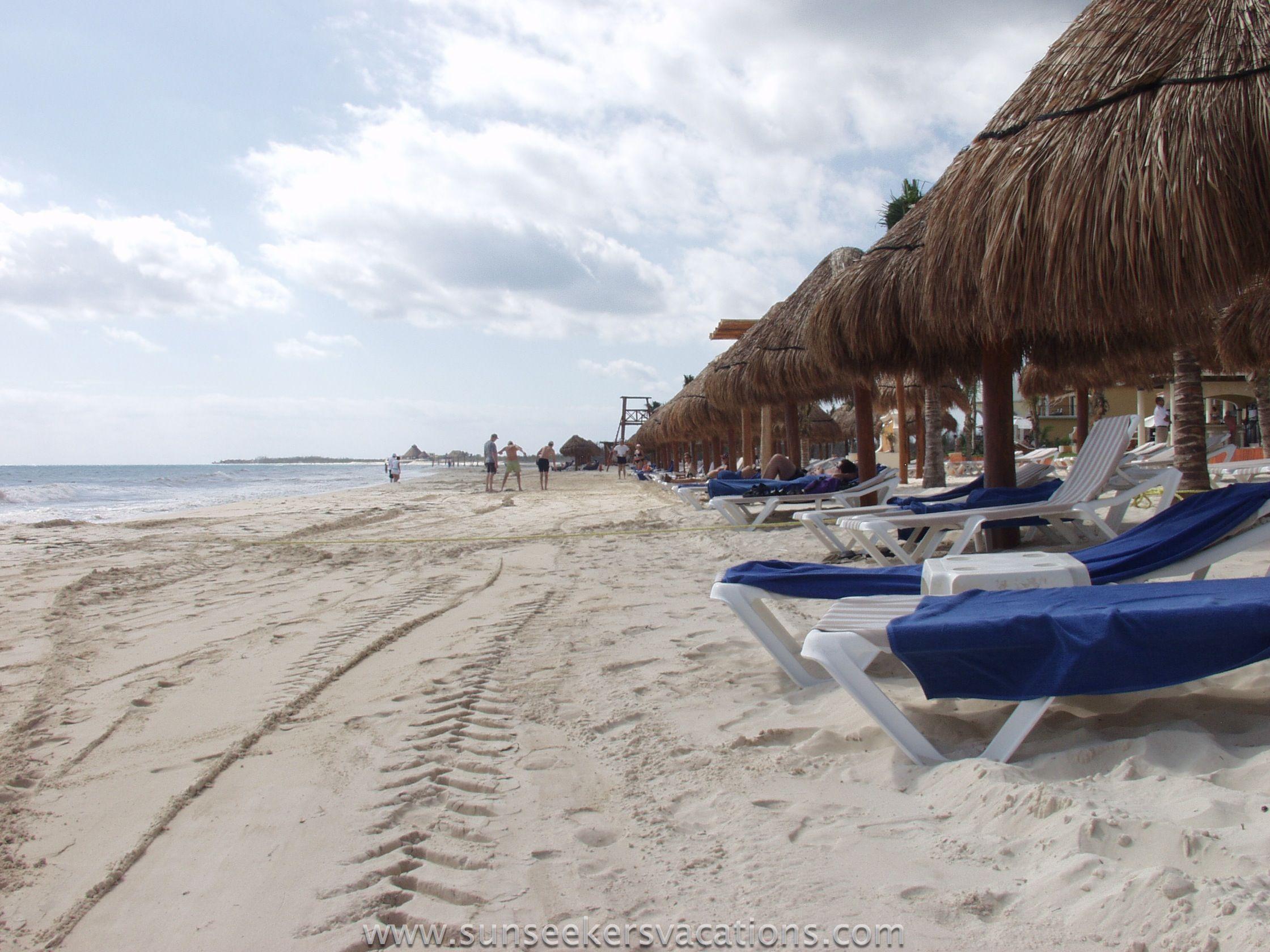 The Beach At Secrets Capri Riviera Cancun Mexico