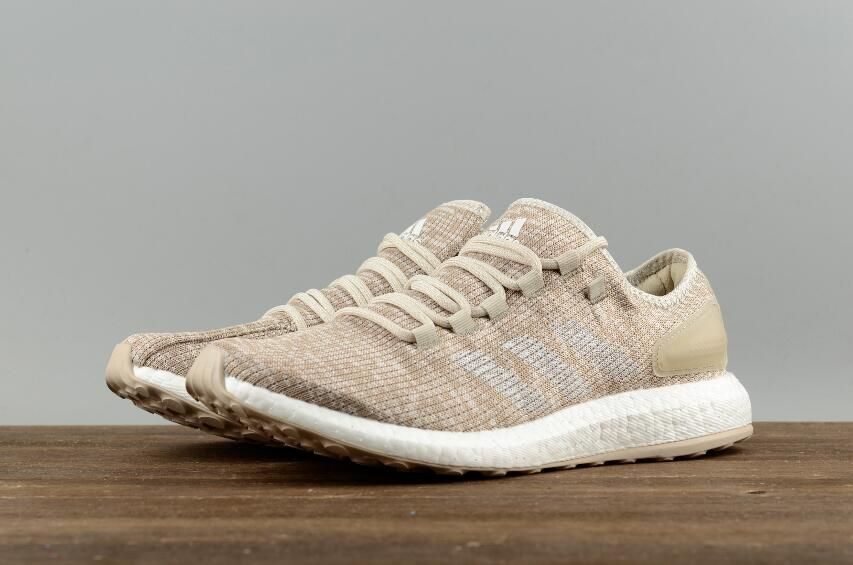 ba8c97a847e3 Adidas Pure BOOST Cream Yellow Leisure Running Shoes S82099 08 ...