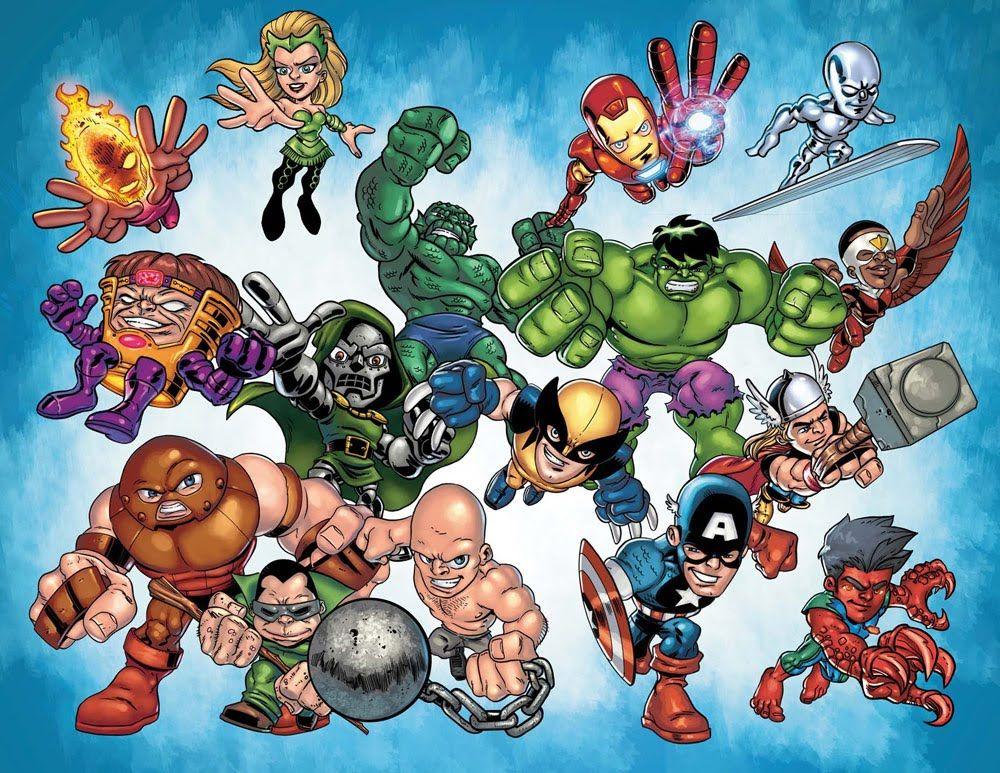 Cartoon Photo Collection Marvel Super Hero Squad Cartoon Photos Hero Squad Desenhos Animados Marvel