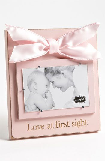 Mud Pie \'Love At First Sight\' Wooden Picture Frame | Nordstrom ...