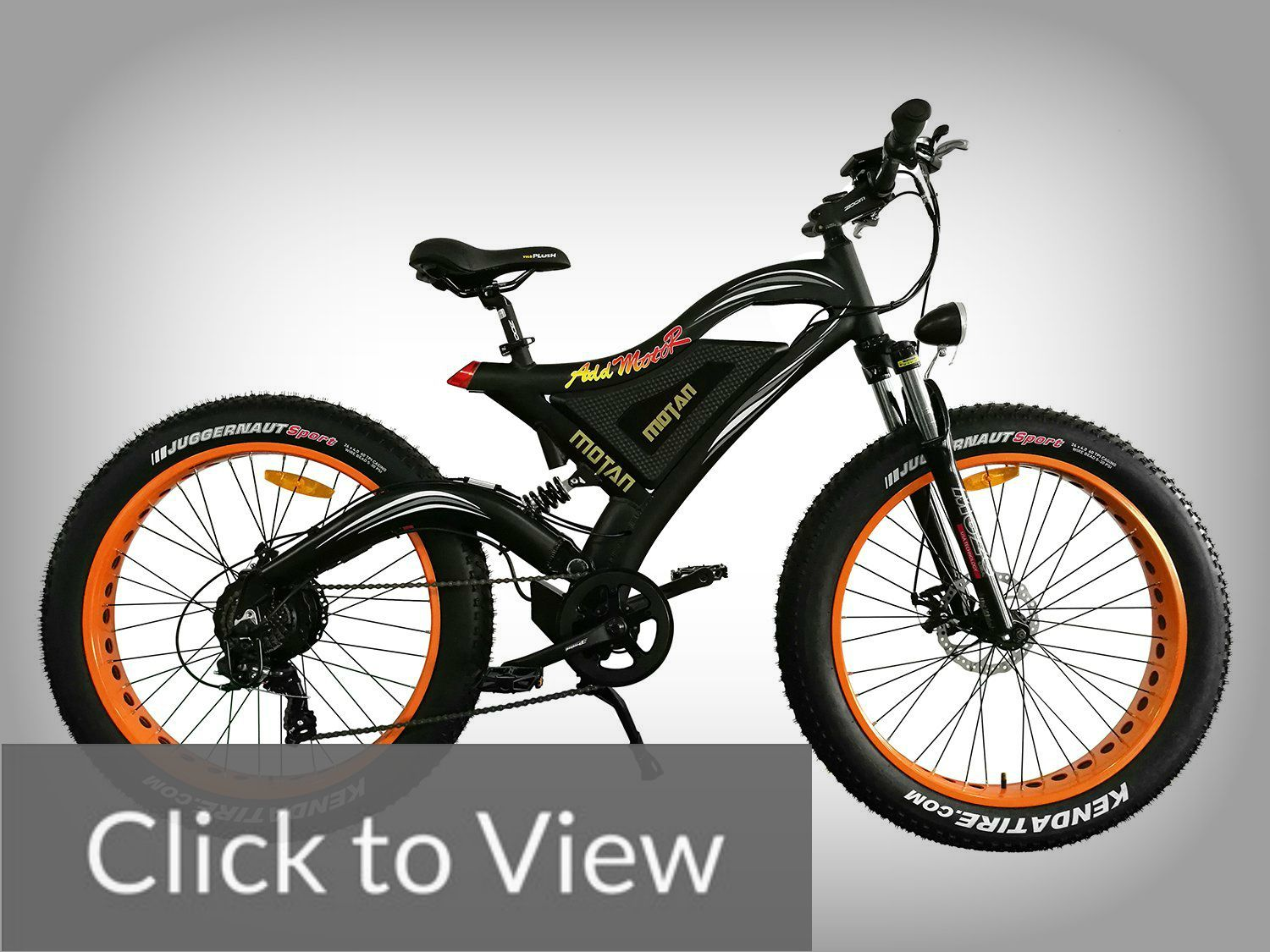 Addmotor Motan M 850 New Electric Bicycle 500w 48v Motor For Snow