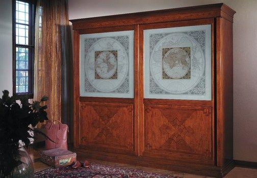 Accademia del Mobile presenta l\'armadio in legno massello della ...