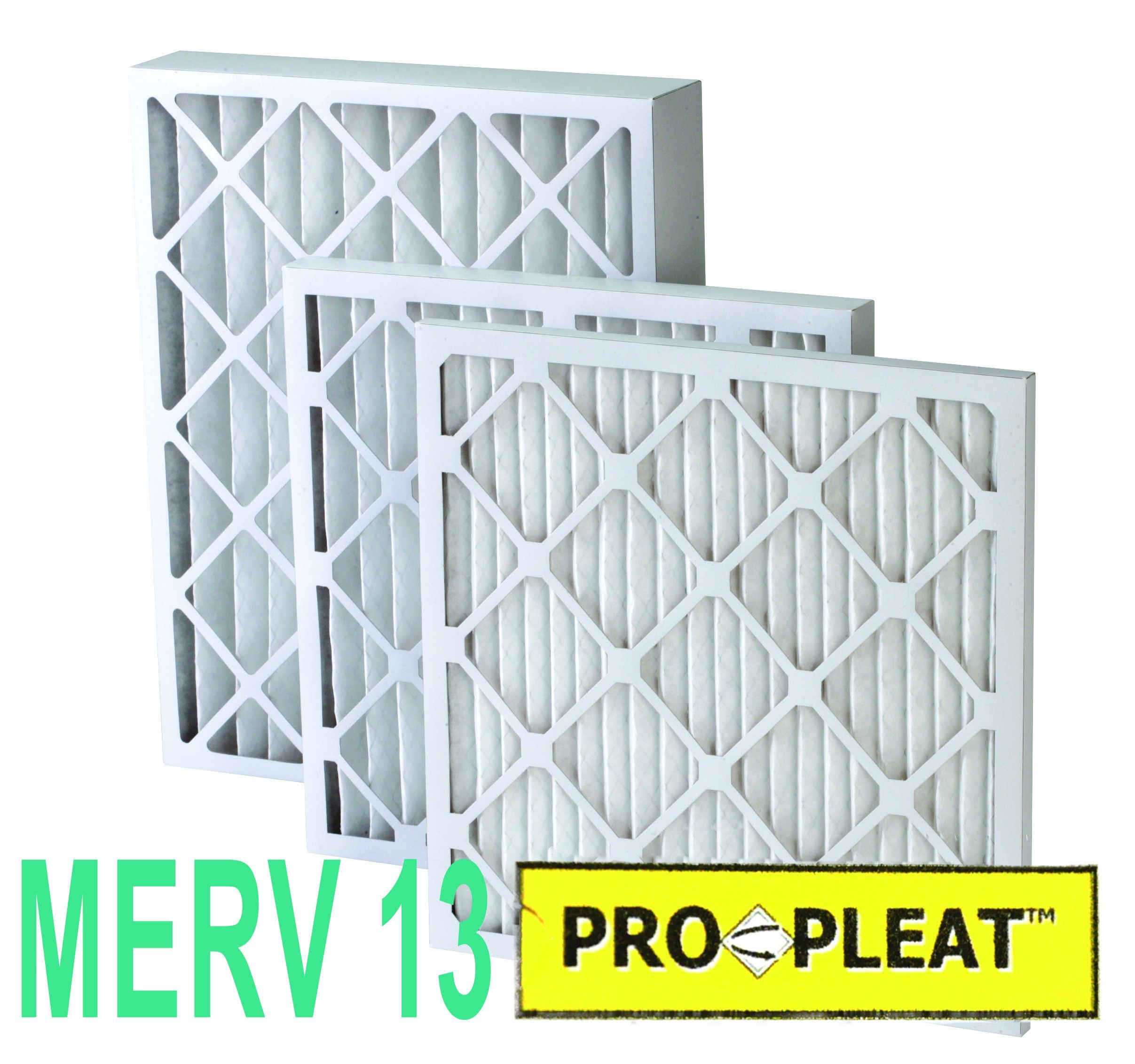 ProPleat Pleated Air Filters MERV 13 (12 Pack for 1