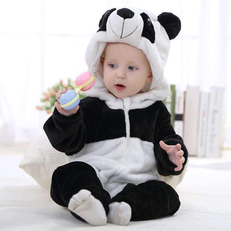 1504ceae463d Animal Shaped Baby Jumpsuit Romper