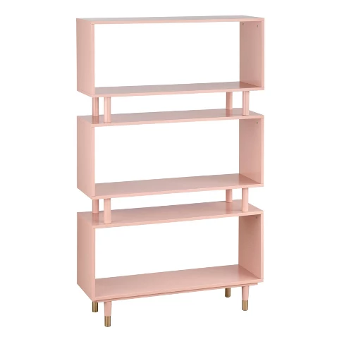 Trieste Bookshelf Pink Buylateral Bookshelves Bookcase Cube