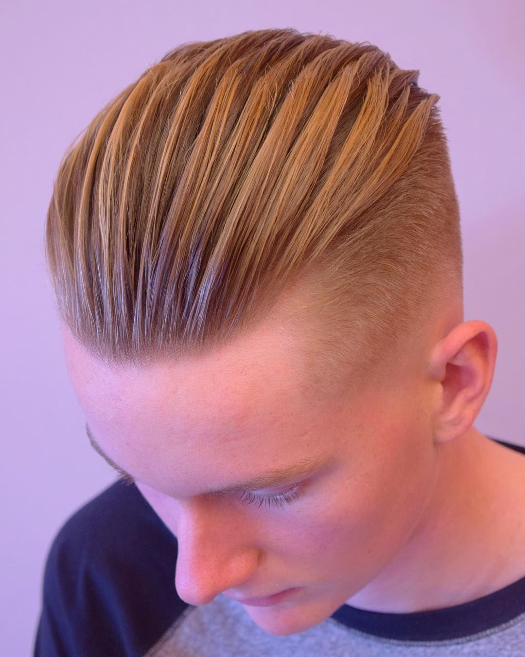 The temple is the ability to show individuality. Bold haircut