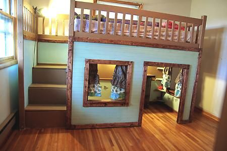Playhouse Or Quot Fort Quot Elevated Bed For The Kids With