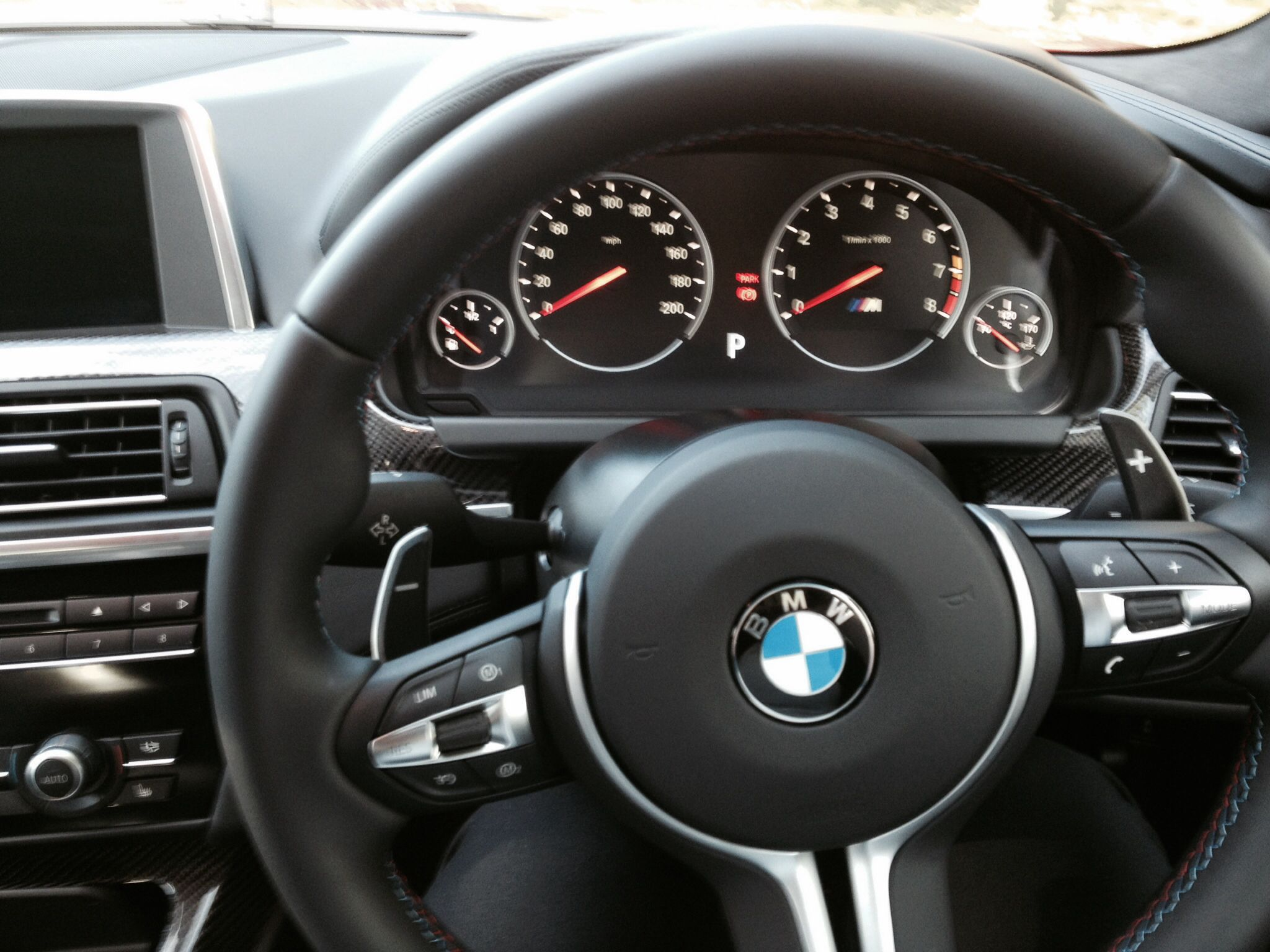 Instrument Cer And M Sport Steering Wheel In The M6 8 Sd Double Clutch Gear Box Was A Dream Meaning You Can Drop Gears Down Get