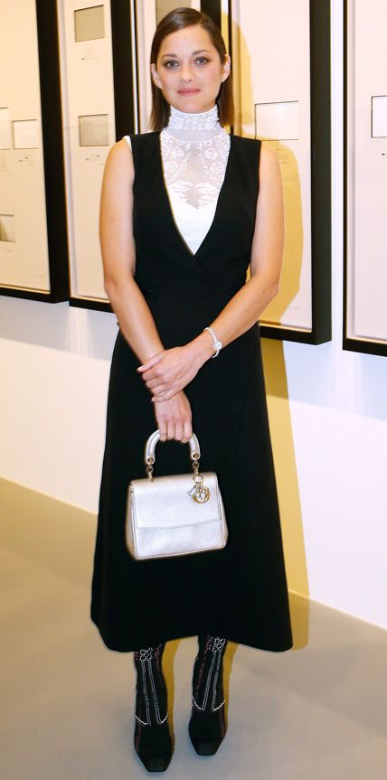Look of the Day - October 21, 2014 - Marion Cotillard in Dior from #InStyle