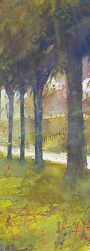 Adrie Hello - watercolours/watercolors/aquarellen/aquarelle/aquarelles