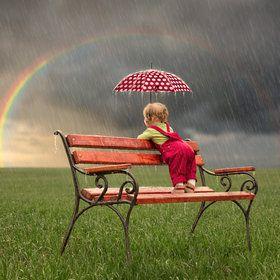I love watching the rain