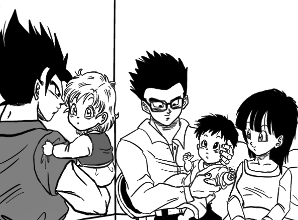 gohan and videl meet future pan fanfiction