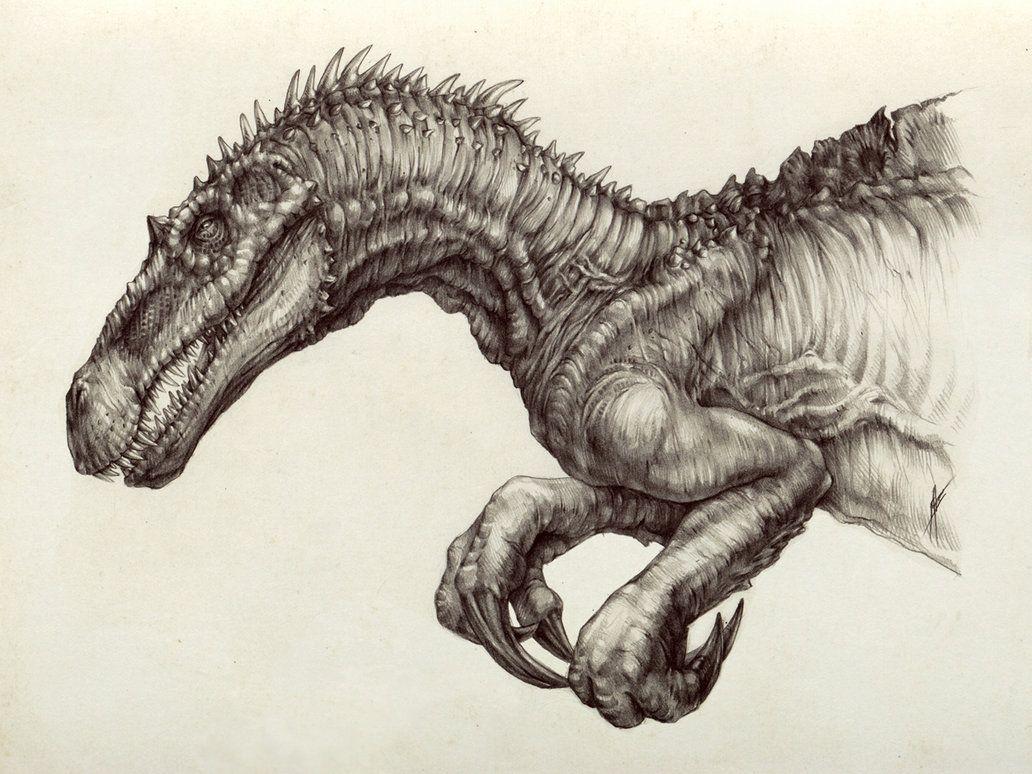 Suchomimus - by AntarcticSpring