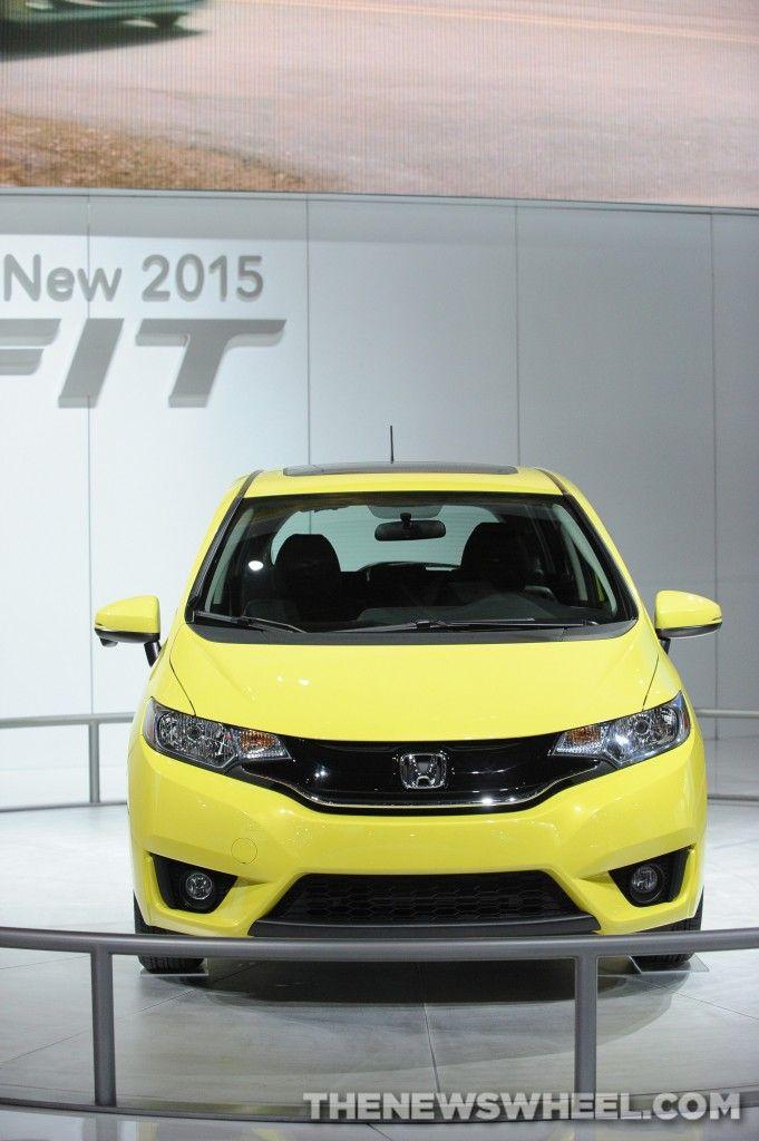 2015 Honda Fit Http Thenewswheel Com 2014 Chicago Auto Show