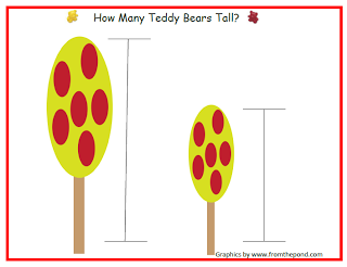 Teachers Cannot Live by Apples Alone: Teddy Bear Math Mats