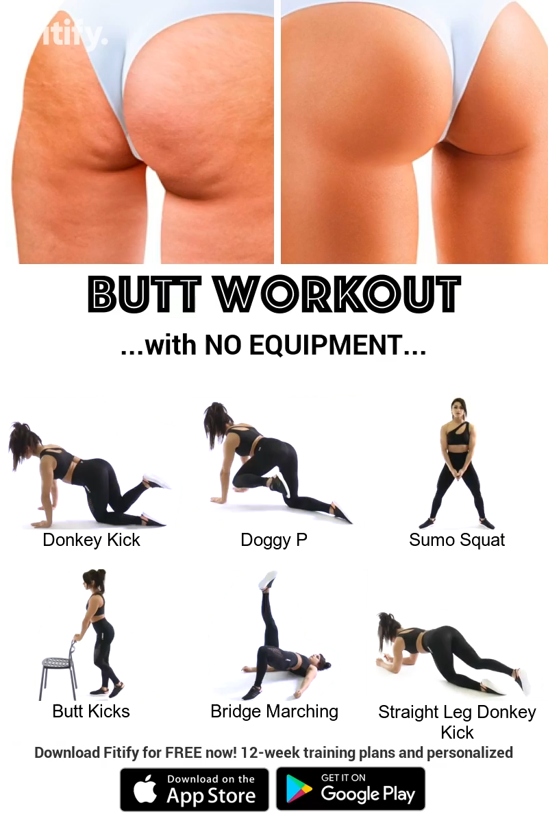 Butt workout with NO Equipment