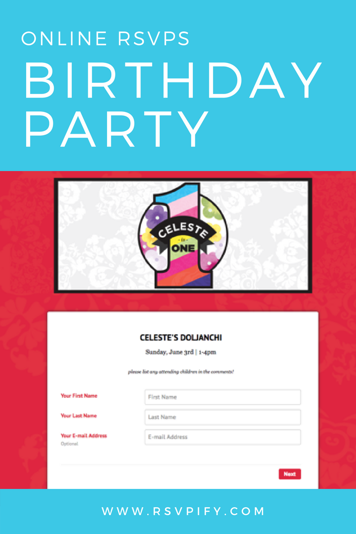 Free Online RSVP And Guest List Management Tools Create Your Event Today For A Birthday Party Or Any Other Special