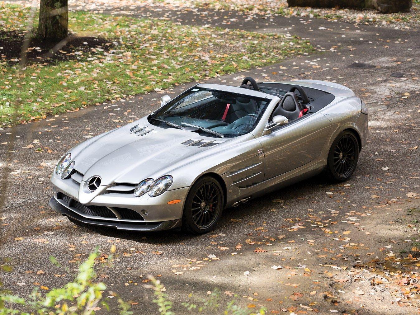 2009 Mercedes Benz Slr Mclaren 722 S Roadster