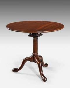 George III Period Tripod Table