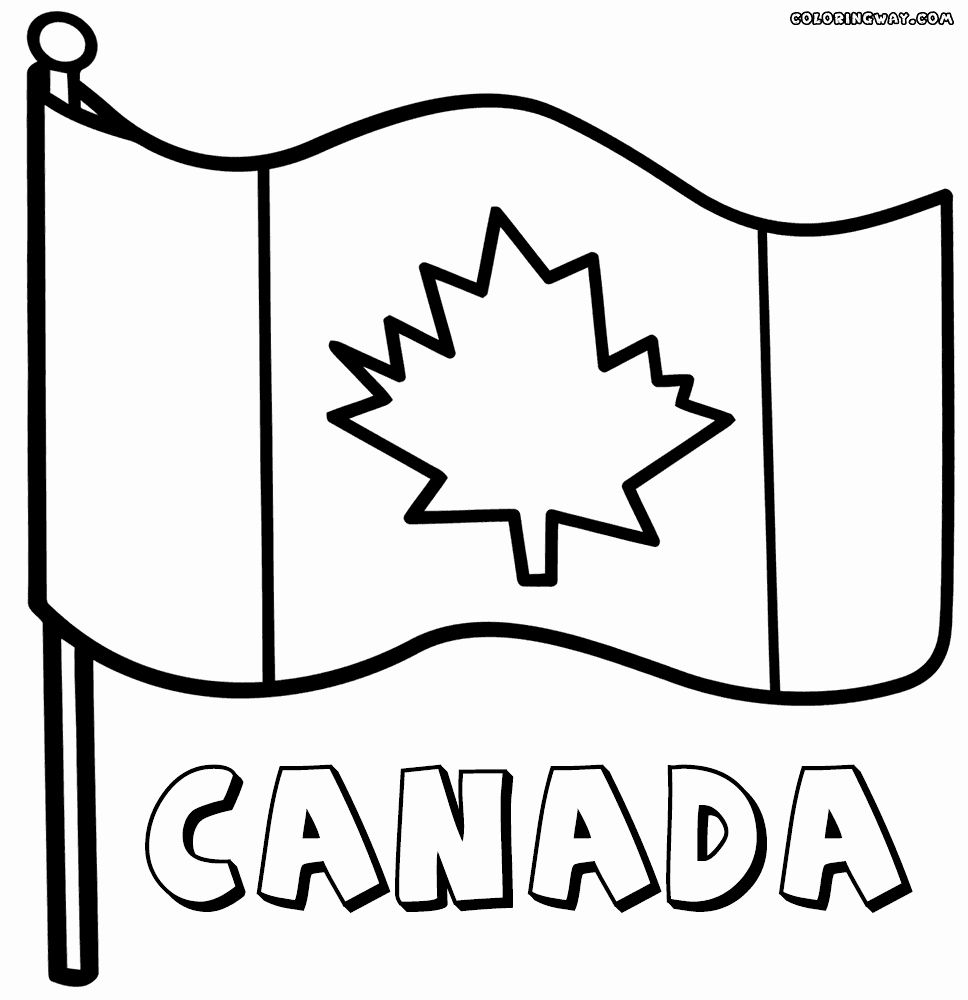 28 Canada Flag Coloring Page Flag Coloring Pages Coloring Pages