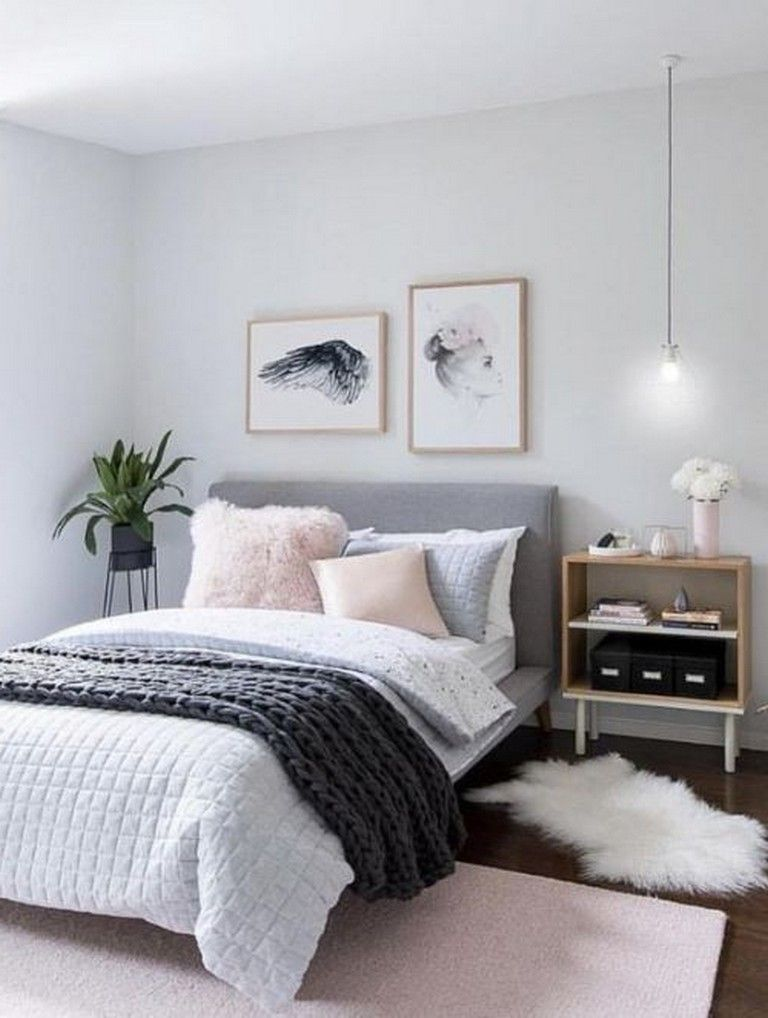 34 top diy room decor ideas for teens girls pink gray bedroom bedroom decor home bedroom on grey and light pink bedroom decorating ideas id=28391