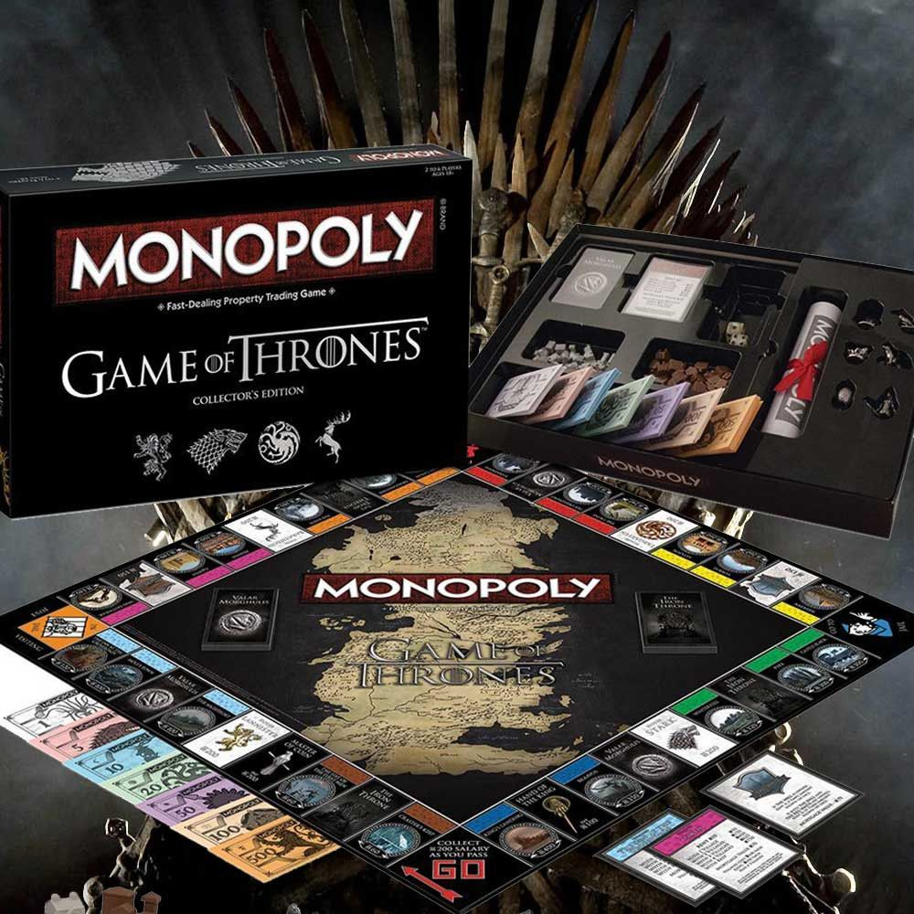 game of thrones monopoly monopoly gaming and valar. Black Bedroom Furniture Sets. Home Design Ideas