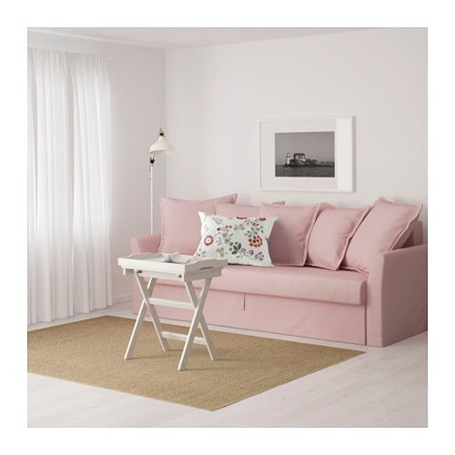 Holmsund Sleeper Sofa Ikea Cover Made Of Durable Cotton With A Fine Smooth Texture