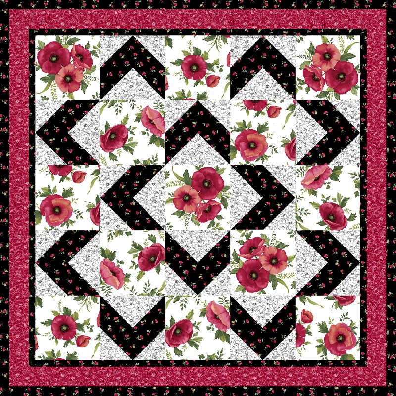 Walk About Quilt Pattern - Ann Lauer - Grizzly Gulch Gallery ... : about quilting com - Adamdwight.com