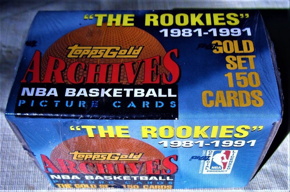1993 topps archives gold factory sealed basketball set