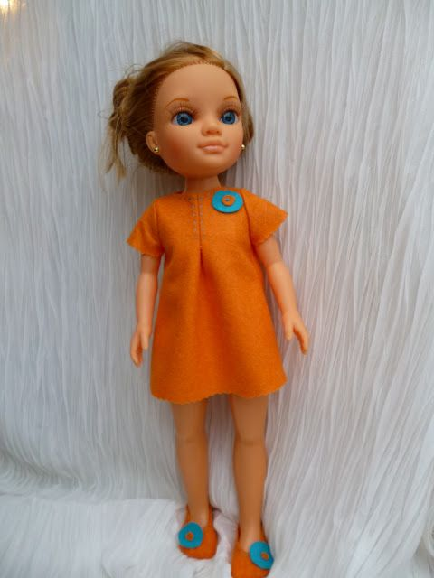 Anilegra moda para muñecas: Mis modelos y patrones para Nancy