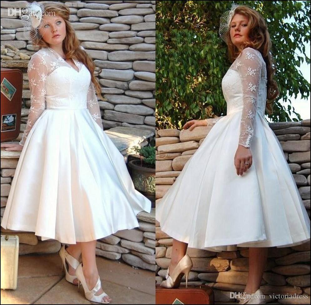 Chubby girl wedding dresses brautkleid für mutti in