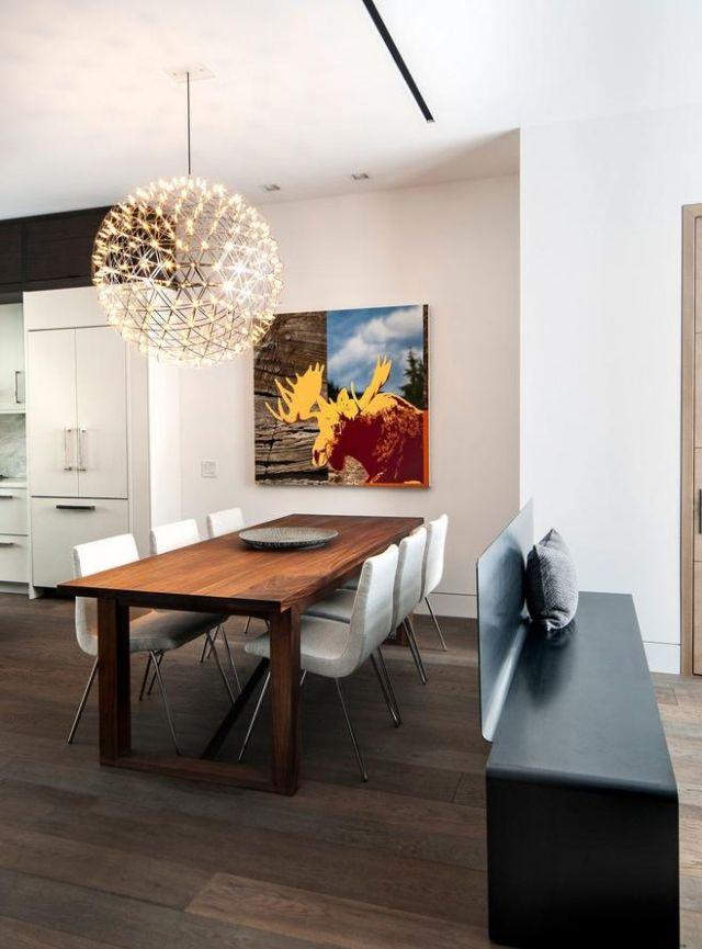 moderner metall kronleuchter led kugel moooi ralmond. Black Bedroom Furniture Sets. Home Design Ideas