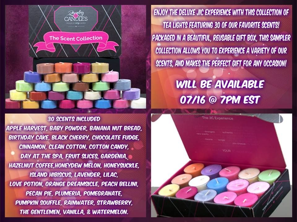 Pre sale only 2000 available until production is done hurry and get yours while you can! Www.jewelryincandles.com/store/Karen-candles. Great for the candle and jewelry addict!! Ho! Ho!ho!