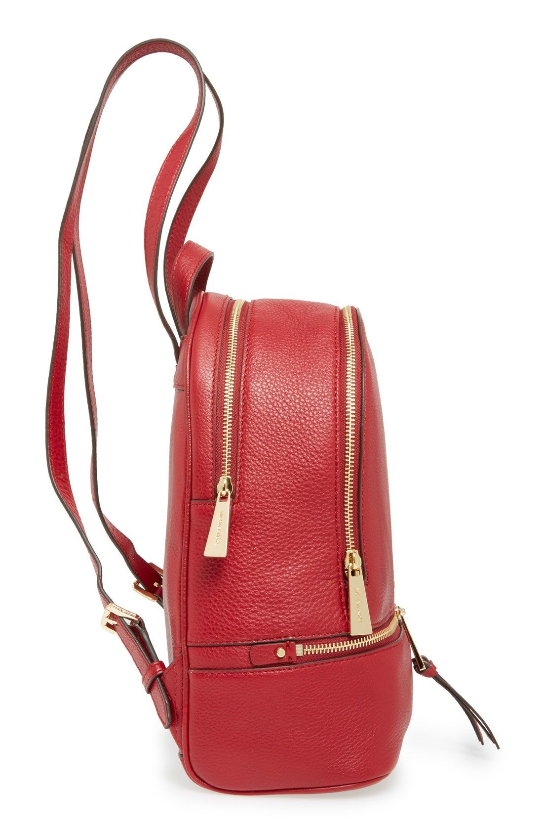 ab4daeca1333c Free shipping and returns on MICHAEL Michael Kors  Extra Small Rhea Zip   Leather Backpack